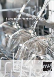 Großgeräte-Katalog Stand- u. Einbaugeräte 2/2021 (mit Preisen)
