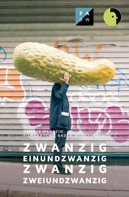Filmakademie Baden-Württemberg Campus Magazin 21/22