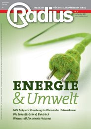 Energie & Umwelt 2021