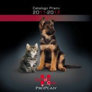 Catalogo Premi - Breeder Club Purina Pro Plan