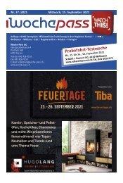 Woche-Pass   KW 37   15. September 2021