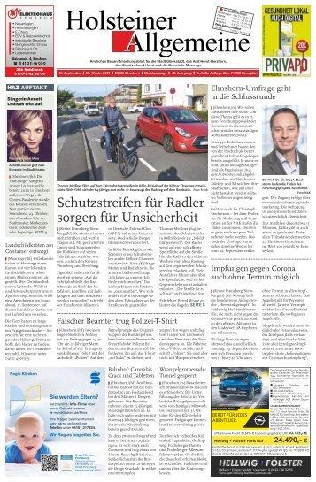 Holsteiner Allgemeine 37 2021