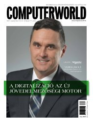 Computerworld magazin 2021.09.08. LII. évfolyam 17. szám