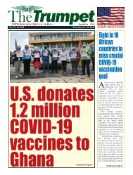 The Trumpet Newspaper Issue 553 (September 8 - 21 2021) - USA Edition