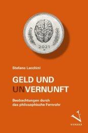 Leseprobe: Stefano Lecchini: Geld und (Un-)Vernunft