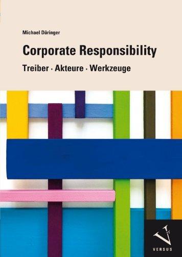 Leseprobe: Michael Düringer: Corporate Responsibility