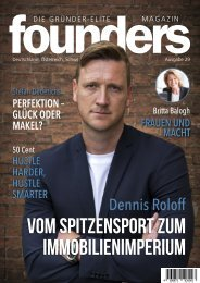 founders Magazin Ausgabe 29