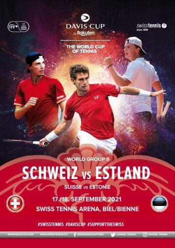 Davis Cup 2021 - Schweiz vs Estland