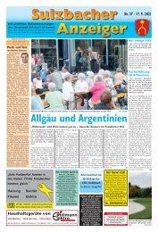 Sulzbacher Anzeiger