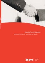 Geschäftsbericht 2004 - E.ON - Strom und Gas - Info-Service - e.on AG