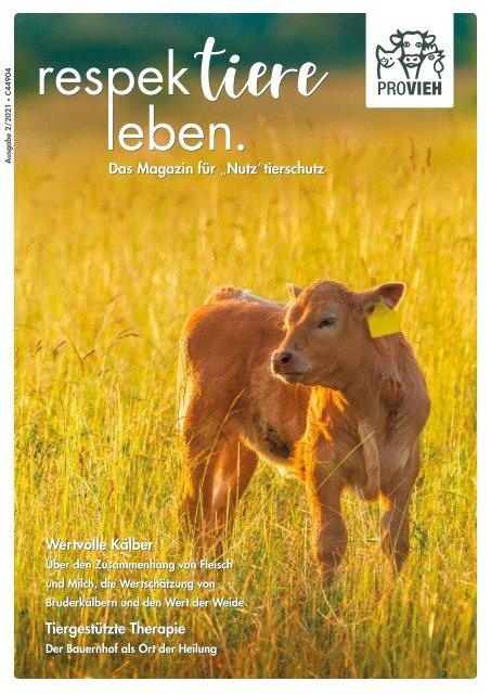 PROVIEH Magazin 02/2021