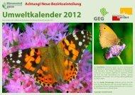 Umweltkalender 2012 - Stadt Werther