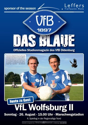 Das Blaue - Saison 2012/2013 #2 - VfB Oldenburg