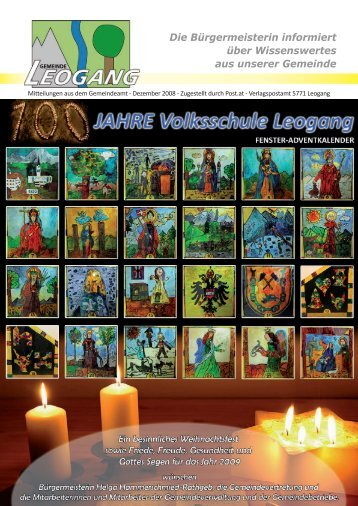 Gemeindezeitung 12-2008 - Gemeinde Leogang