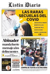 Listín Diario 20-09-2021