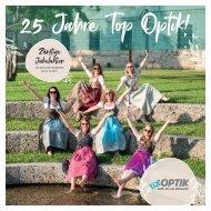 25 Jahre Top Optik – Jubiläumsprospekt