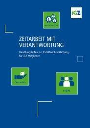CSR-Handlungshilfen für iGZ-Mitglieder