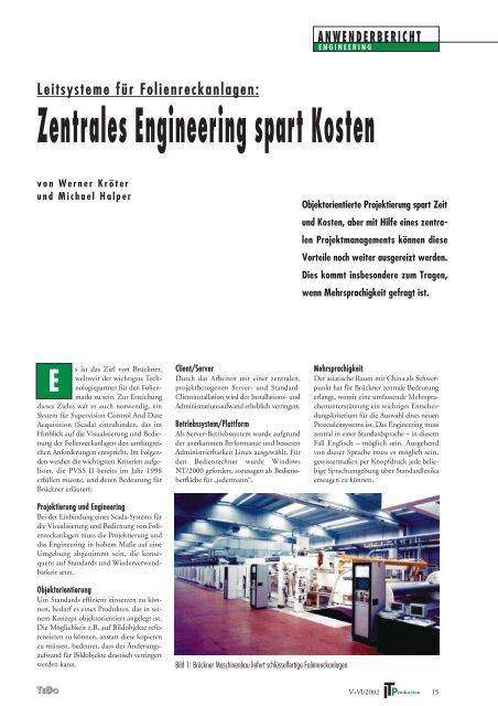 Zentrales Engineering spart Kosten - ETM professional