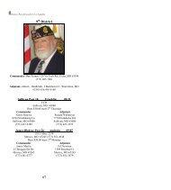 Commander – - Missouri, Department of - American Legion