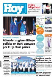 Edición impresa HOY martes 21 de septiembre del 2021