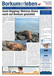 22.09.2021 / Borkumerleben - Die wöchentliche Inselzeitung