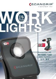 SCANGRIP WORK LIGHTS