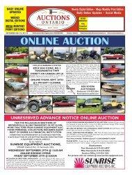 Auctions Ontario - 2021-09-21