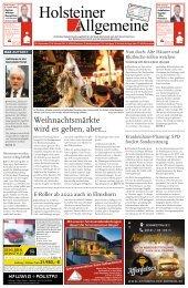 Holsteiner Allgemeine 38 2021