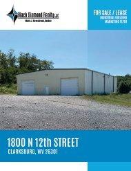 1800 N 12th Street Marketing Flyer