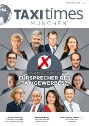 Taxi Times München - 3. Quartal 2021