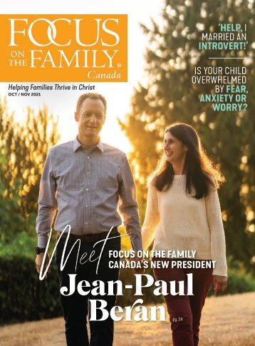 Focus on the Family Magazine - October/November 2021