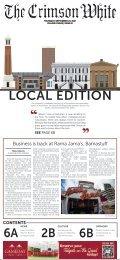 The Crimson White: Local Edition, September 2021