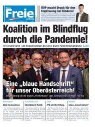 Koalition im Blindflug durch die Pandemie!