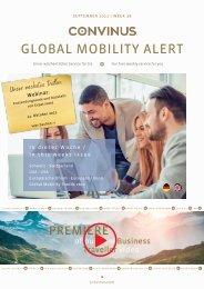 CONVINUS Global Mobility Alert Week 38