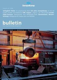 Bulletin 2/ 2008 - Siempelkamp
