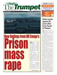 The Trumpet Newspaper Issue 554 (September 22 - October 5 2021)