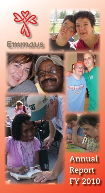 Annual Report FY 2010 - Emmaus Homes