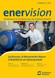 Bielefelder Wasser - Stadtwerke Bielefeld