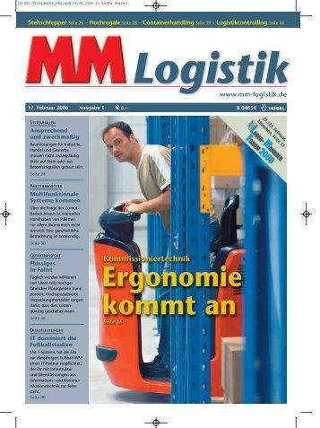 (09 31) 4 18-24 70, Fax (09 31) - MM Logistik