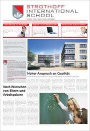 Was Eltern an der Strothoff-Schule schätzen - Rhein-Main.Net