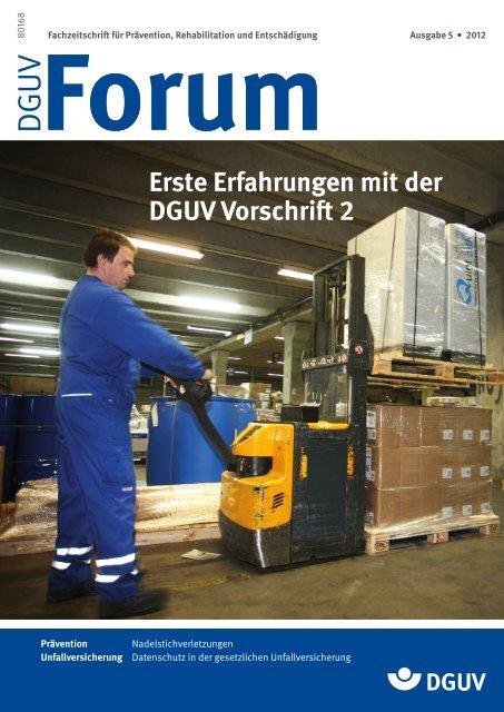 Ausgabe 5/12 - DGUV Forum