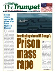 The Trumpet Newspaper Issue 554 (September 22 - October 5 2021) - USA Edition