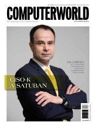Computerworld magazin 2021.09.22. LII. évfolyam 18. szám