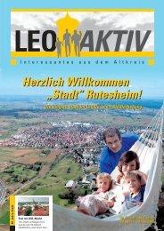 LEOAKTIV Ausgabe 10 - 07-08/2008 - leoaktiv.de