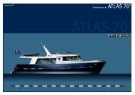 Stahl-Motoryacht ATLAS 70' - Europlast