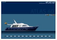 Stahl-Motoryacht ATLAS 60' - Europlast