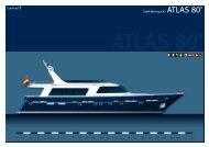 Stahl-Motoryacht ATLAS 80' - Europlast