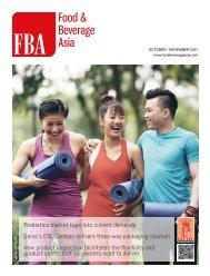 Food & Beverage Asia October/November 2021