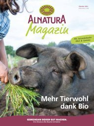 Alnatura Magazin Oktober 2021