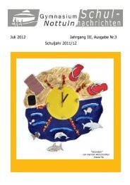 Nr. 3 Juli 2012 - Gymnasium Nottuln